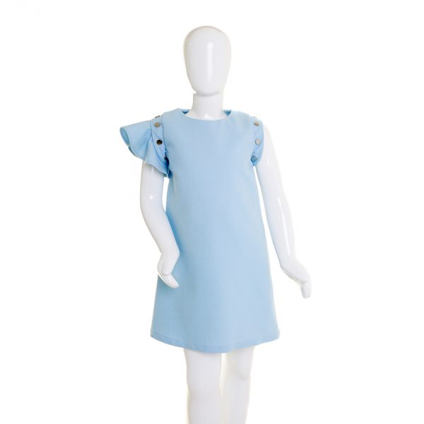 lola starr Baby Blue Denim Dress
