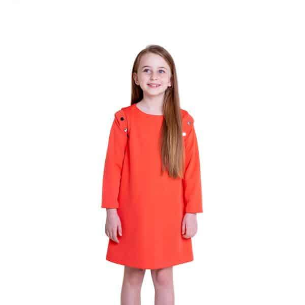 lola starr Pop Coral Dress