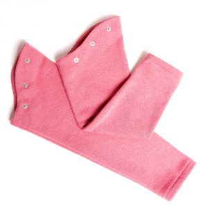 LOLA STARR Pink Glitter Long Sleeve
