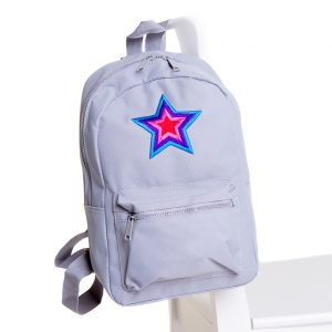 lola starr Grey Backpack