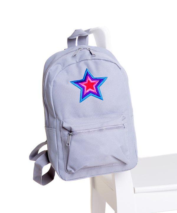 lola starr Grey Backpack