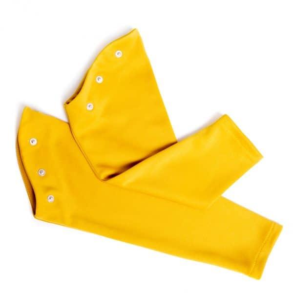 lola starr Mustard Long Scuba Sleeve