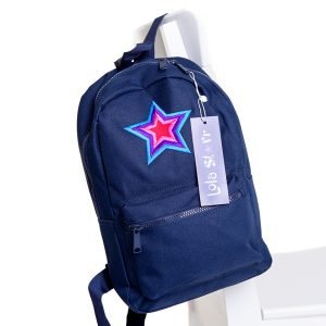 lola starr Navy Backpack