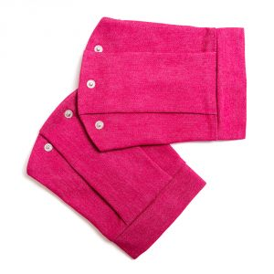 lola starr Soft Jeans Raspberry Short Sleeve