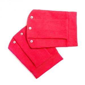 lola starr Soft Jeans Red Short Sleeve
