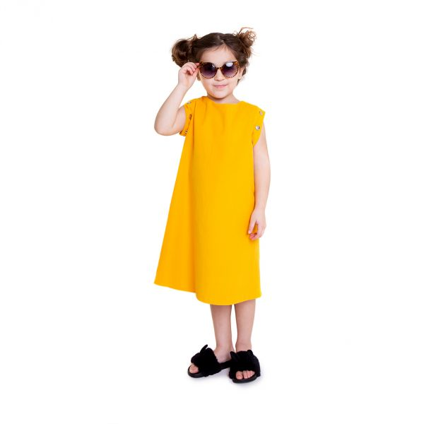 lola starr Baby Yellow Dress