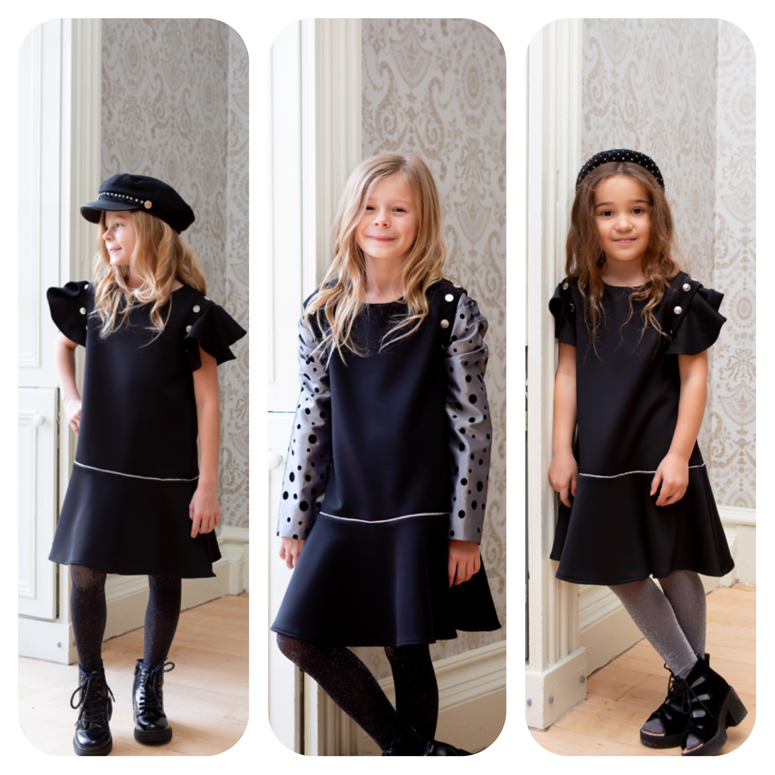 3 image of girls in LBD