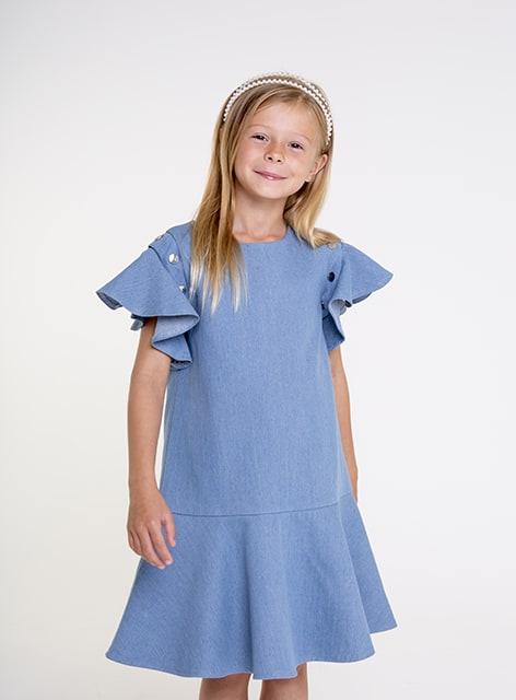 Light denim dress SS20