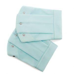 mint blue flat sleeve
