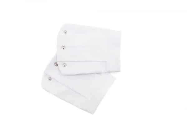 white flat scuba sleeve