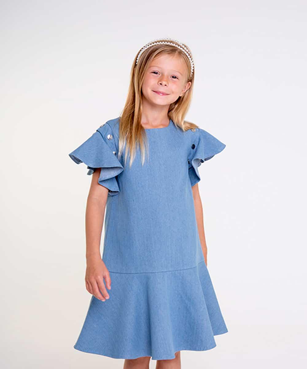 Light demin dress